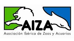 Logotipo Asociación Ibérica de Zoos y Acuarios - AIZA