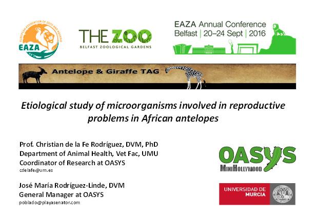Cartel anuncio de la Conferencia Anual EAZA 2016