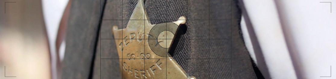 Detalle de estrella de Sheriff Oasys MiniHollywood