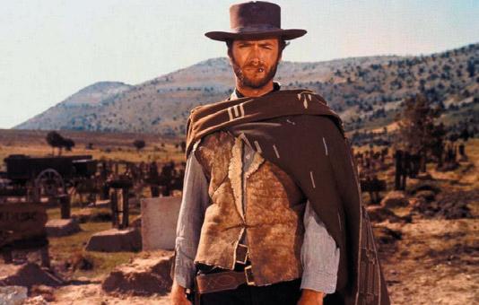 Imagen de Clint Eastwood en la película El Bueno, El Feo y El Malo - Oasys MiniHollywood
