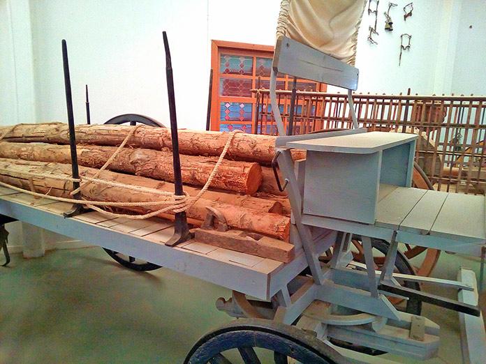 Carro de leñadores
