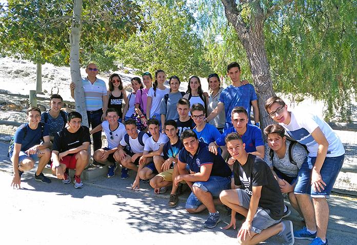 alumnos de Biología del Colegio La Salle