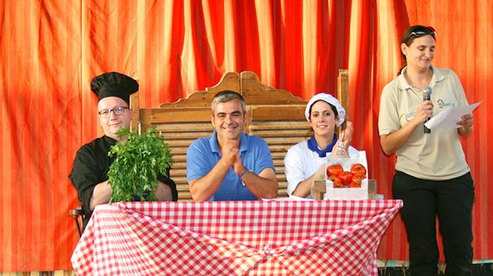 Jurado del concurso Mini Chef