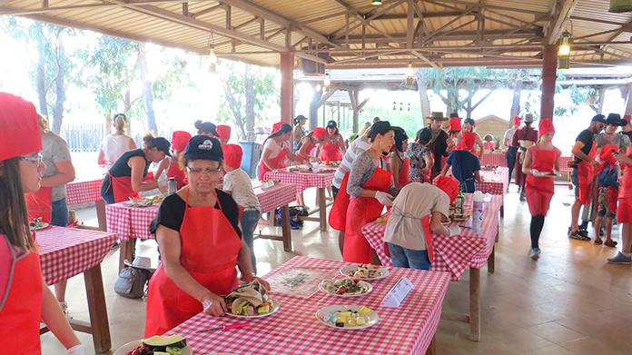 Participantes concurso Mini Chef