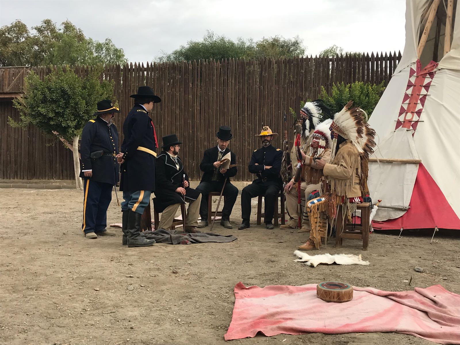 Old West History: recreación histórica del Oeste