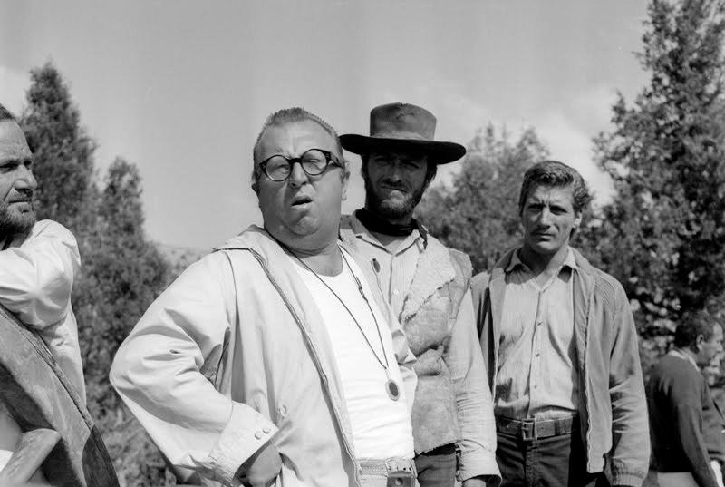 Sergio Leone y Clint Eastwood