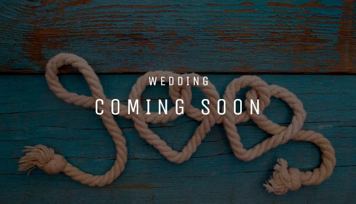 Wedding coming soon
