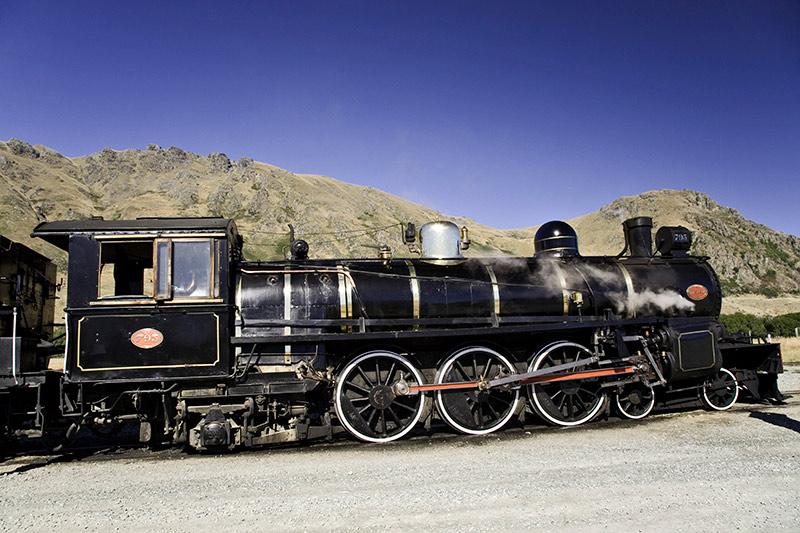 ferrocarril en el Oeste