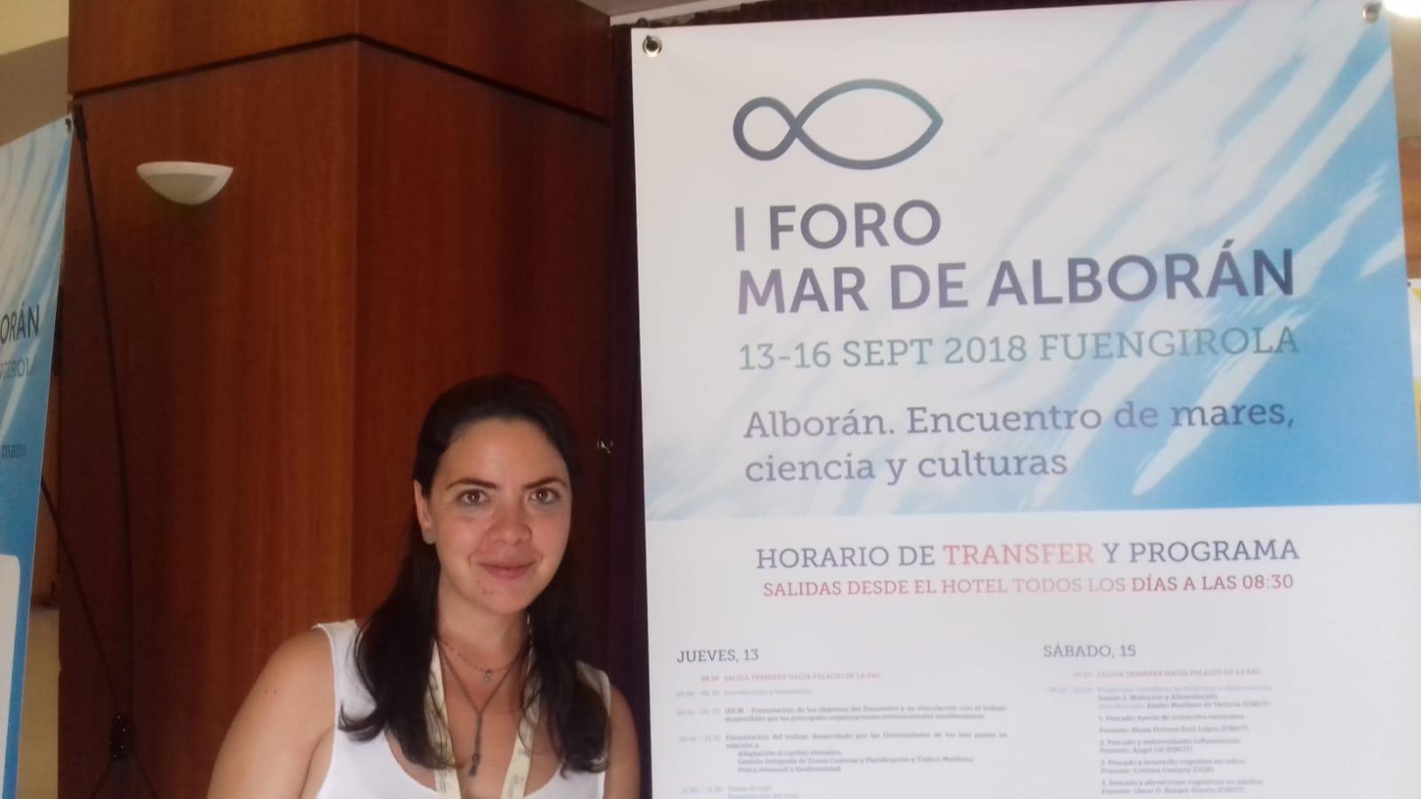 Cristina Bolumar, veterinaria especialista en tortugas marinas