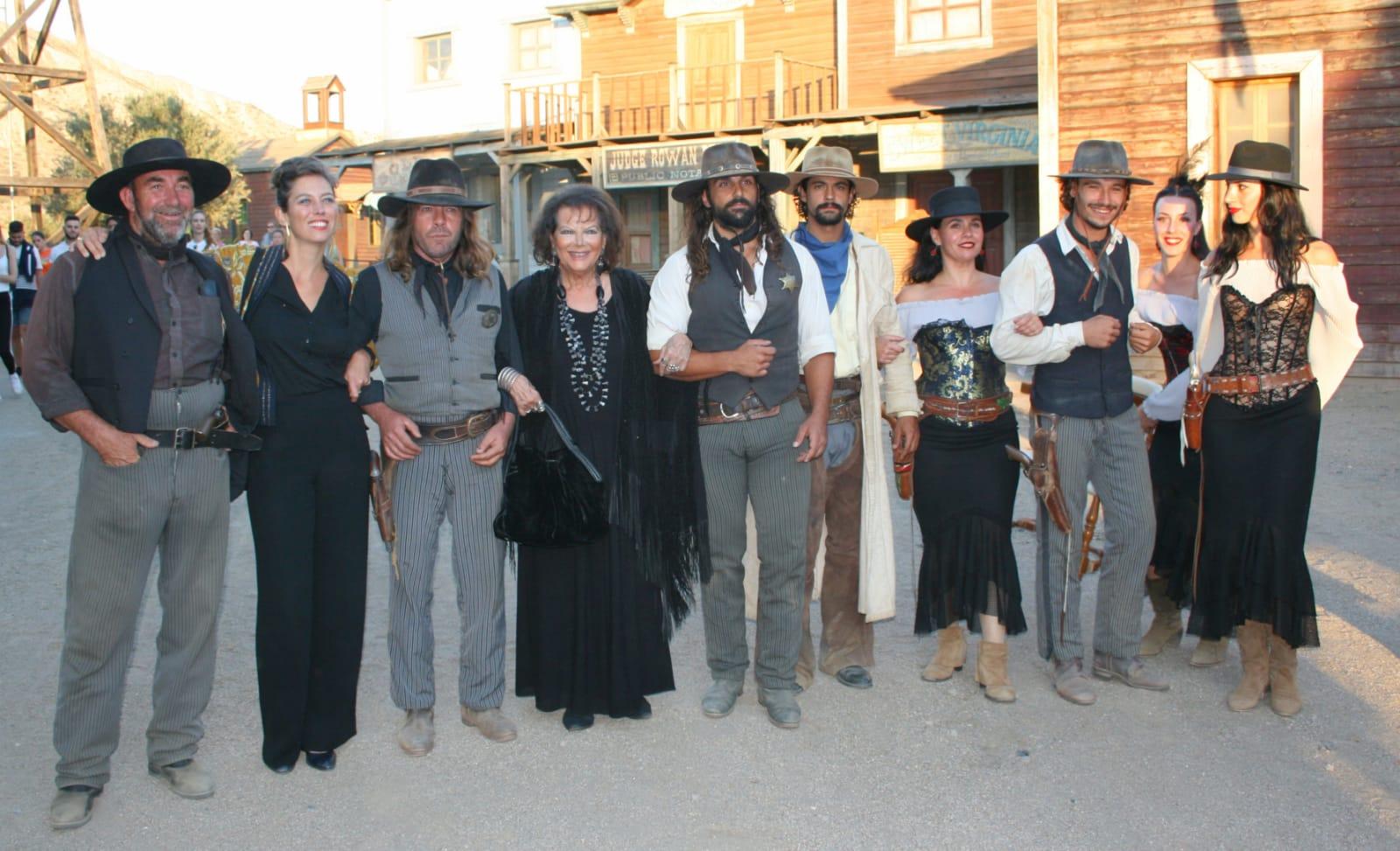 Premio Tabernas de Cine a Claudia Cardinale
