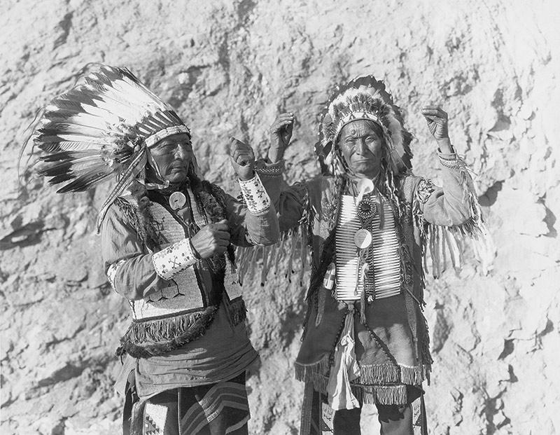 Vestimenta de los indios americano