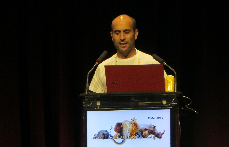 Antonio Rivas en Conferencia Anual EAZA 2019