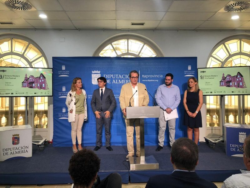 Rueda de prensa de presentación de Almería Western Film Festival 2019