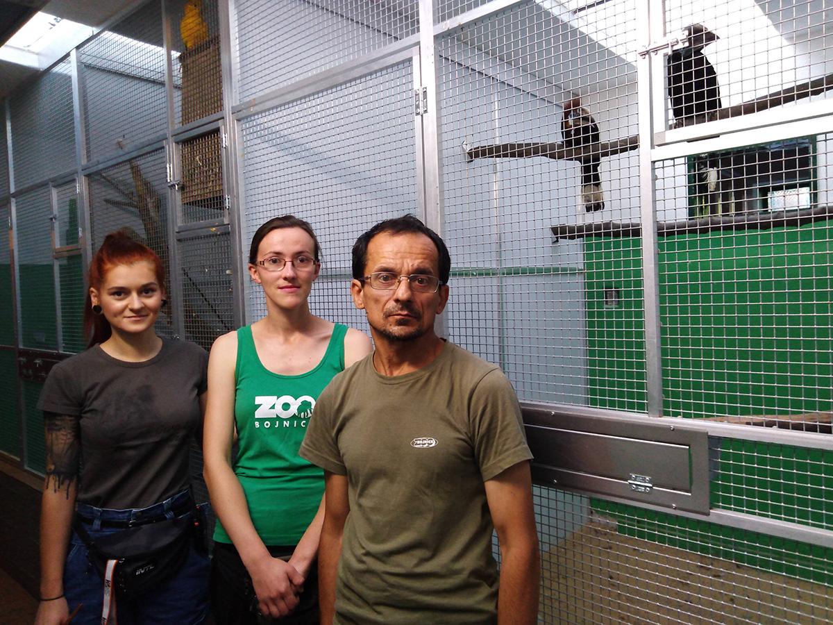 Personal del Zoo de Bojnice
