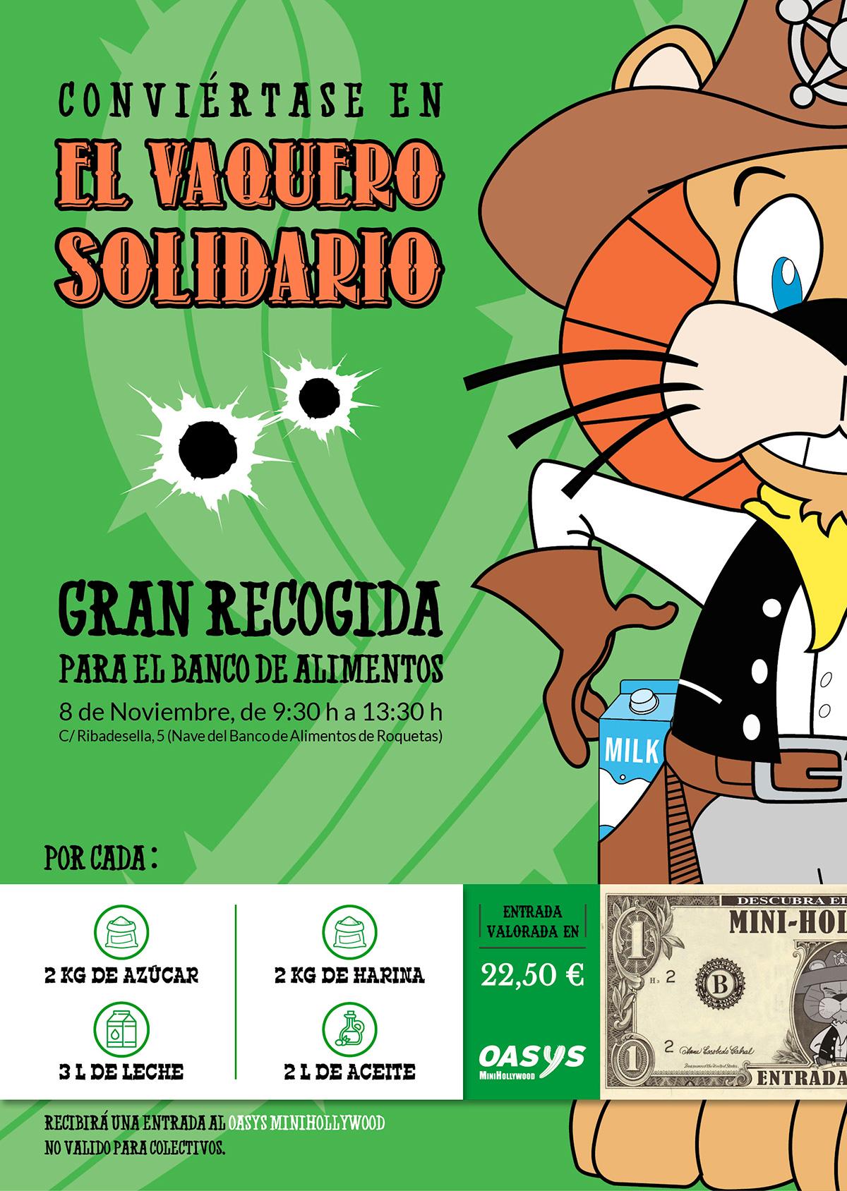 Póster El Vaquero Solidario