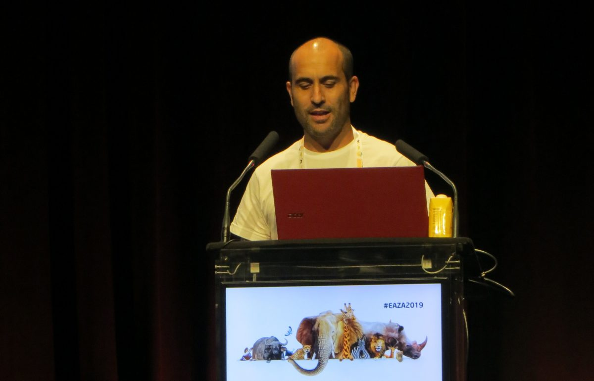 Antonio Rivas in EAZA Annual Conference 2019