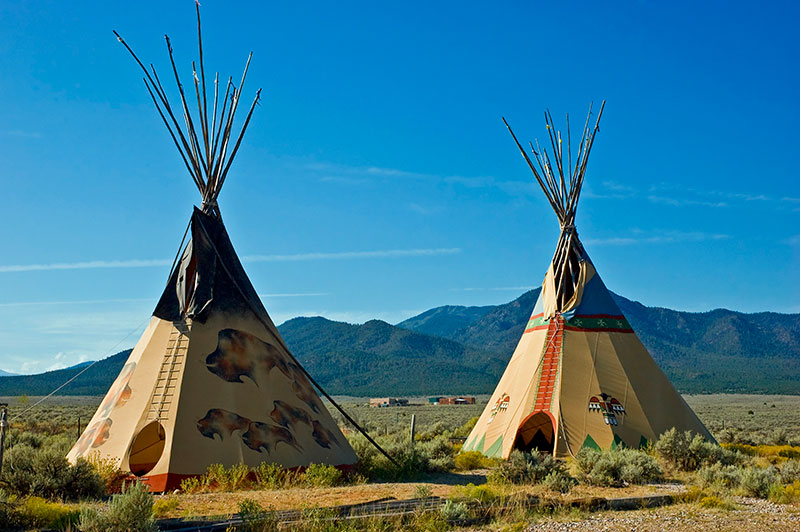 The Native American tipi: why was it the home of North American ...